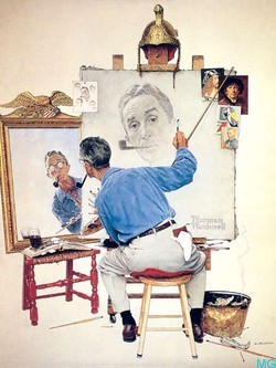 a biography of norman rockwell an american magazine cover illustrator American artist norman rockwell  the great illustrator and magazine artist norman rockwell was on edward r murrow's  a biography and utopia.