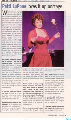 Graduate School Search >> Patti LuPone - Celebrity information