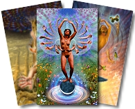 Cosmic Tribe Tarot Deck