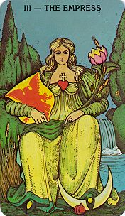 Barbara Shelley's Character Tarot Card
