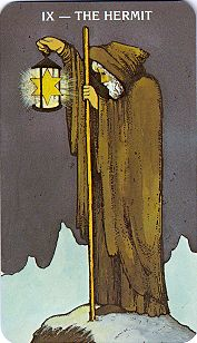 Madonna's Growth Tarot Card