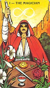 David Crosby's Character Tarot Card