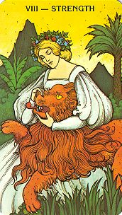 Wendy Hiller's Growth Tarot Card