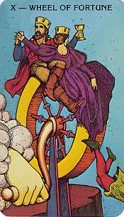 Vibeke Stene's Growth Tarot Card